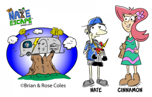 The Nate Escape Comic Strip